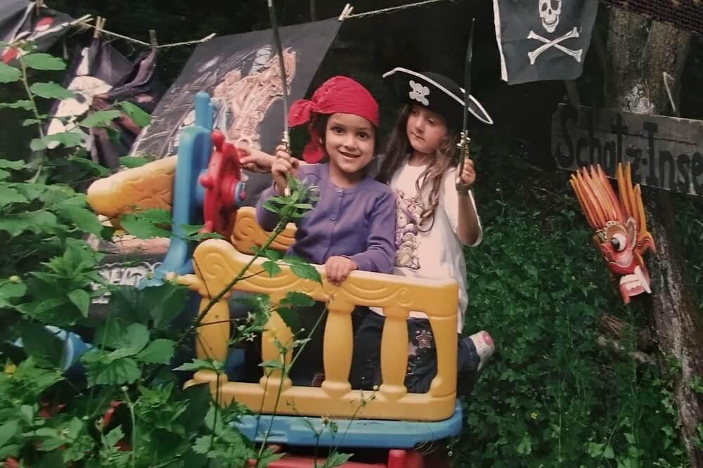 Die Piratenhöhle im Abenteuer Land der Sinne lädt zum Toben und Spaßhaben ein