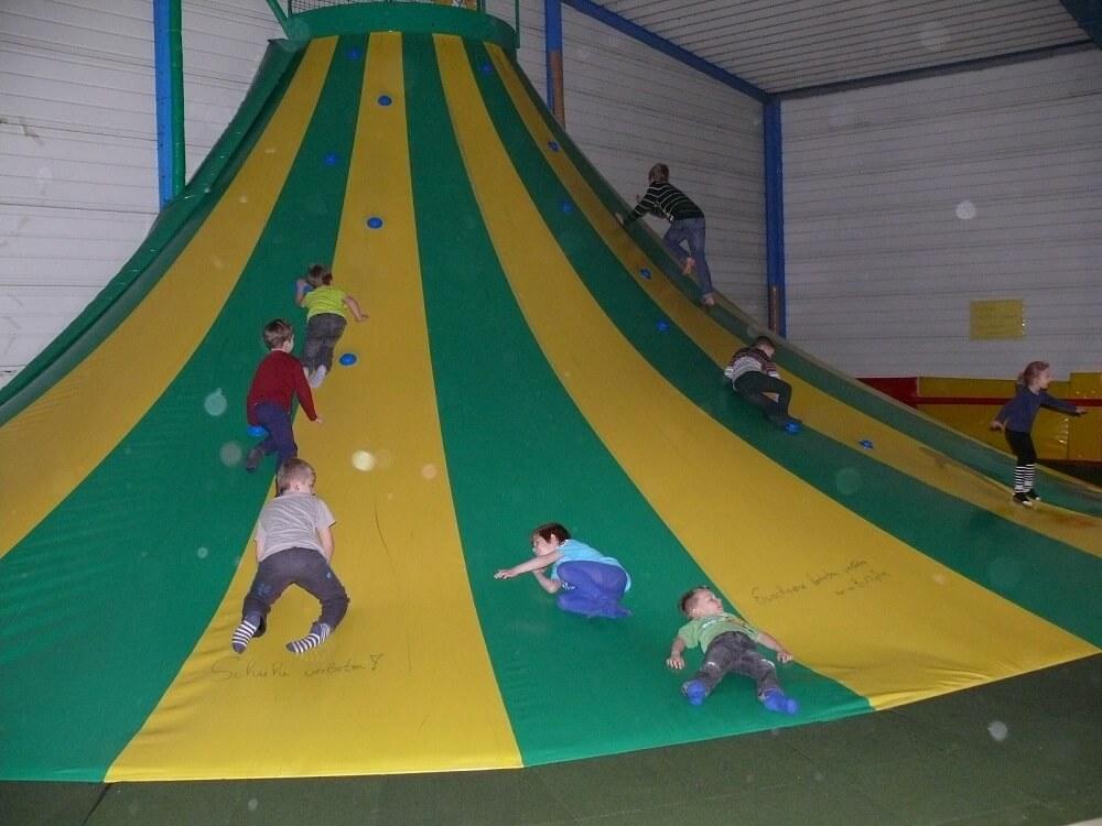 Der Indoorspielplatz MAXXIS in Emleben