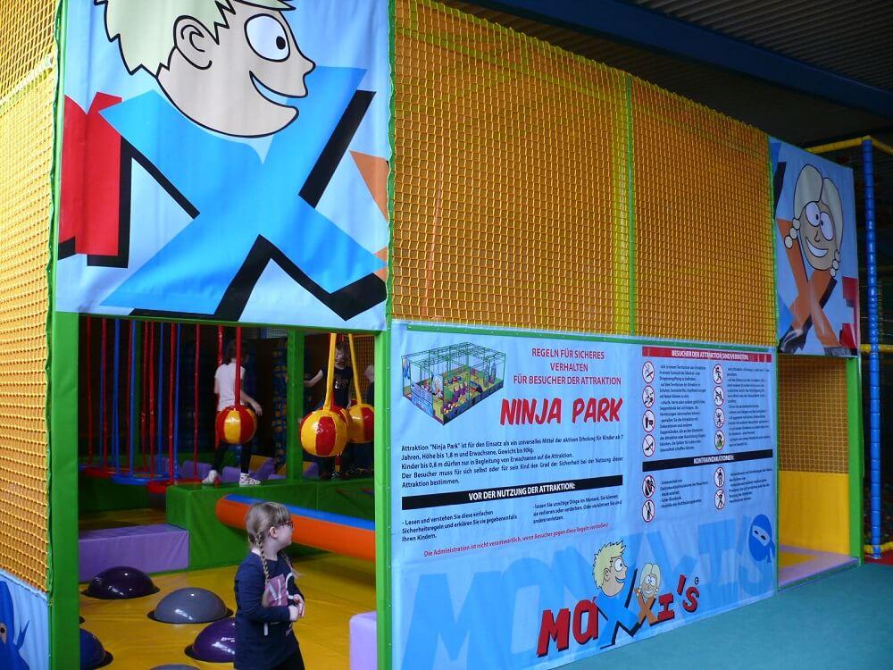 Spielen im MAXXIS Indoorspielplatz in Emleben