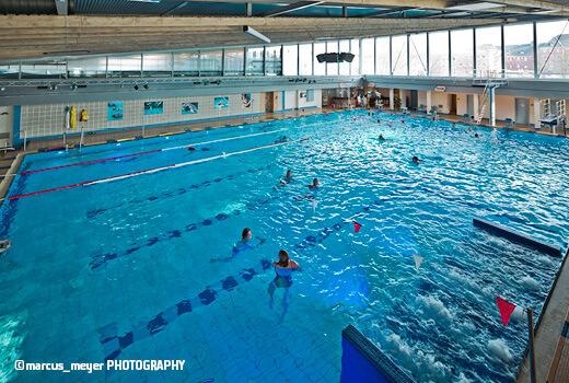 Das Schwimmerbecken im Südbad Bremen