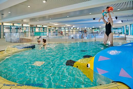 Vitalbad Kleinkinder- und Schwimmerbecken